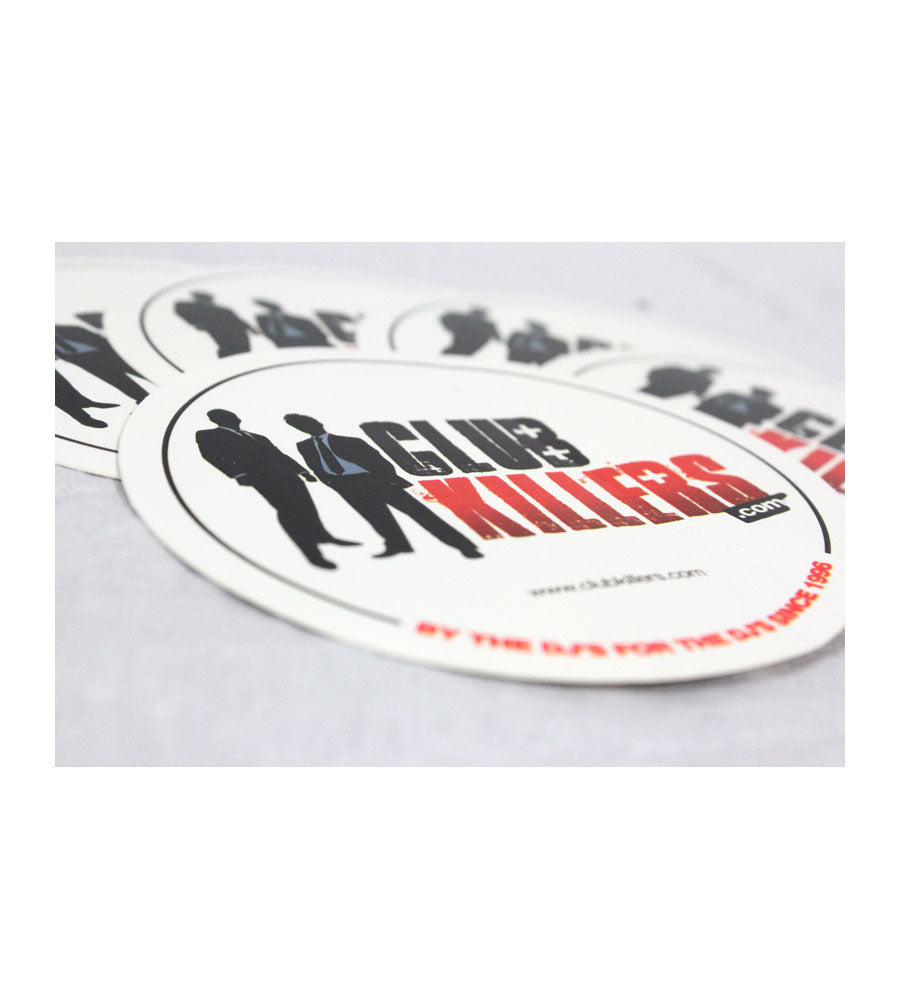 Club Killers Circle Sticker Pack