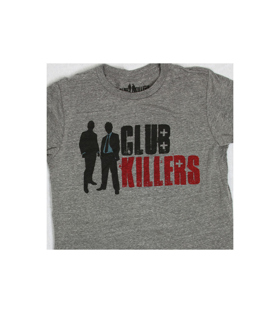Club Killers Ladies Logo Gray