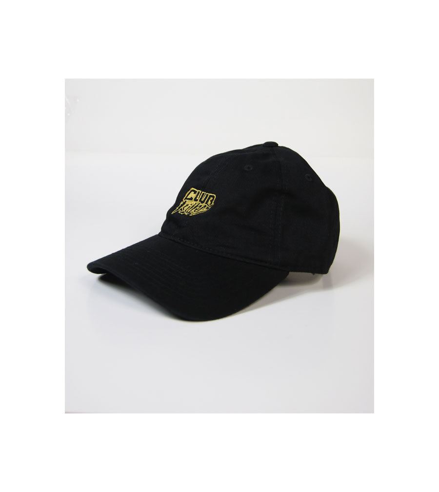 Club Killers Logo- Black and Gold - Dad Hat