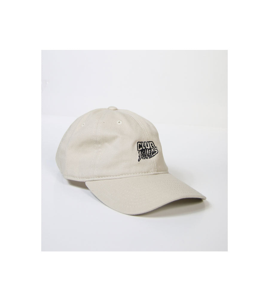 Club Killers Logo Dad Hat - Cream