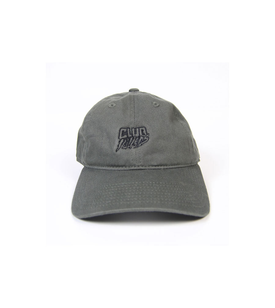 Club Killers Logo Dad Hat - Olive Green