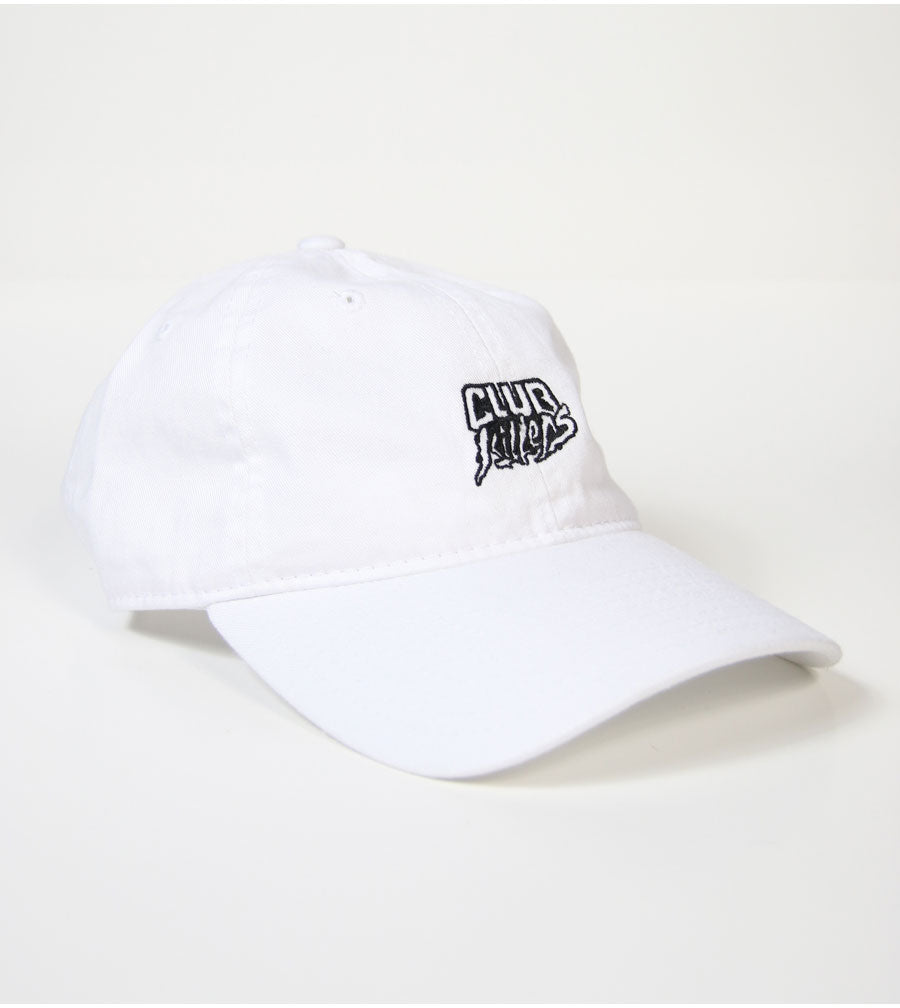 Club Killers Logo Dad Hat - White