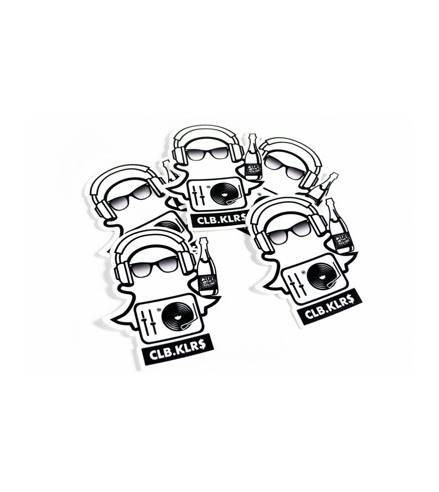 Club Killers - Snap Killers Sticker 5 Pack