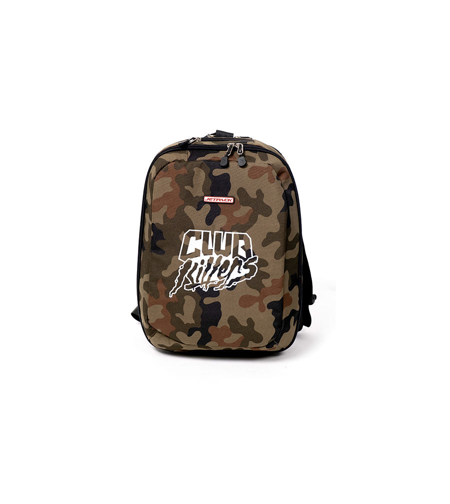 Clubkillers Orbit Concepts Jetback Slim Camo DJ Bag/Backpack