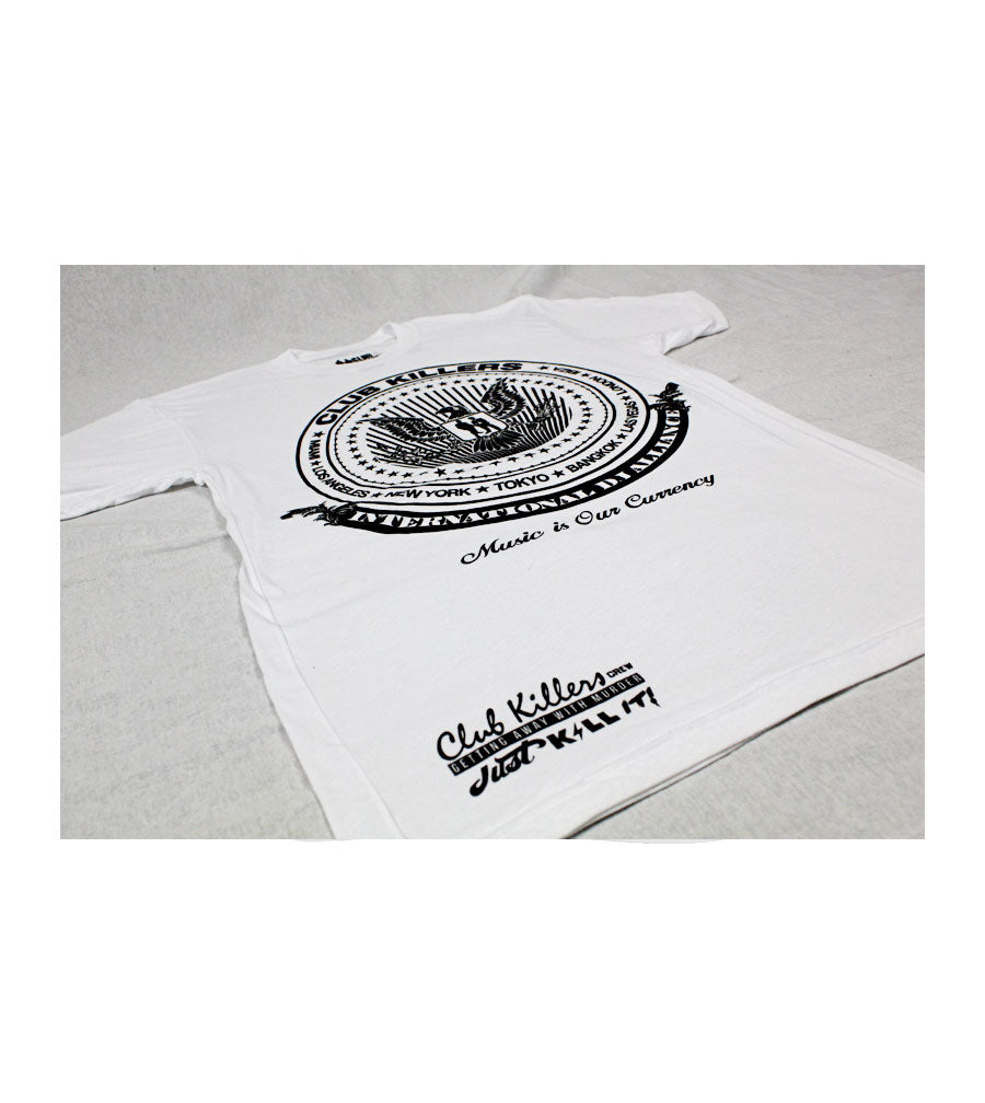 International Dj Alliance White Tshirt