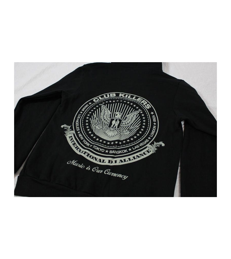 International dj Alliance Zip Up Sweater