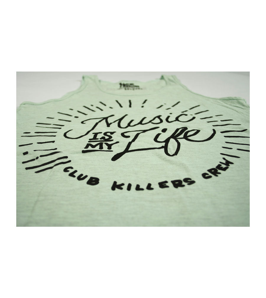 MUSIC IS MY LIFE - UNISEX- Fine Jersey Tanks