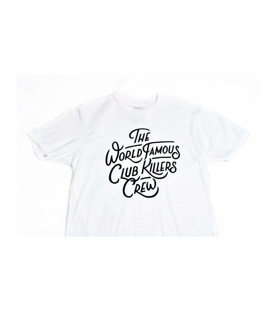 WORLD FAMOUS CLUB KILLERS CREW - WHITE