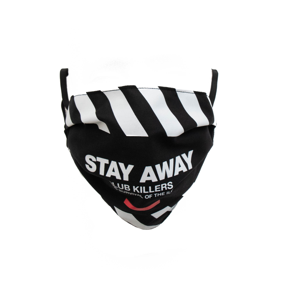 Stay Away XL Face Mask