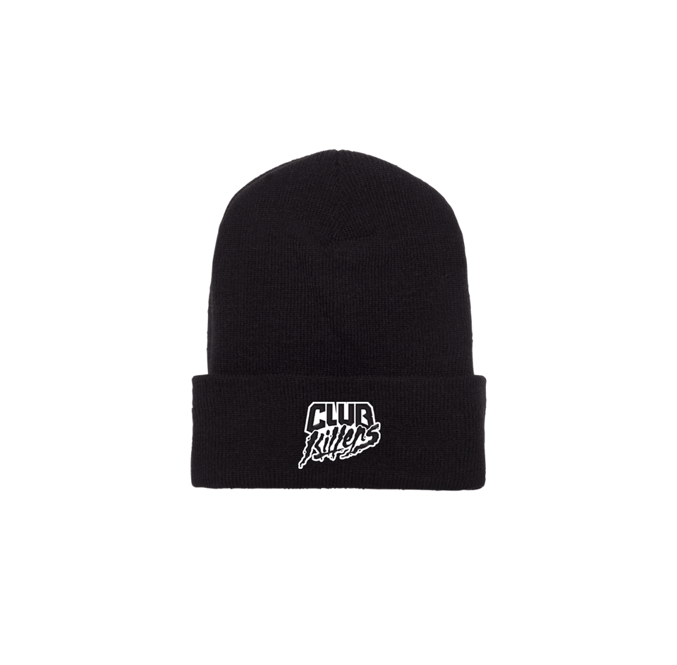 CUFFED KNIT BEANIE (Black)