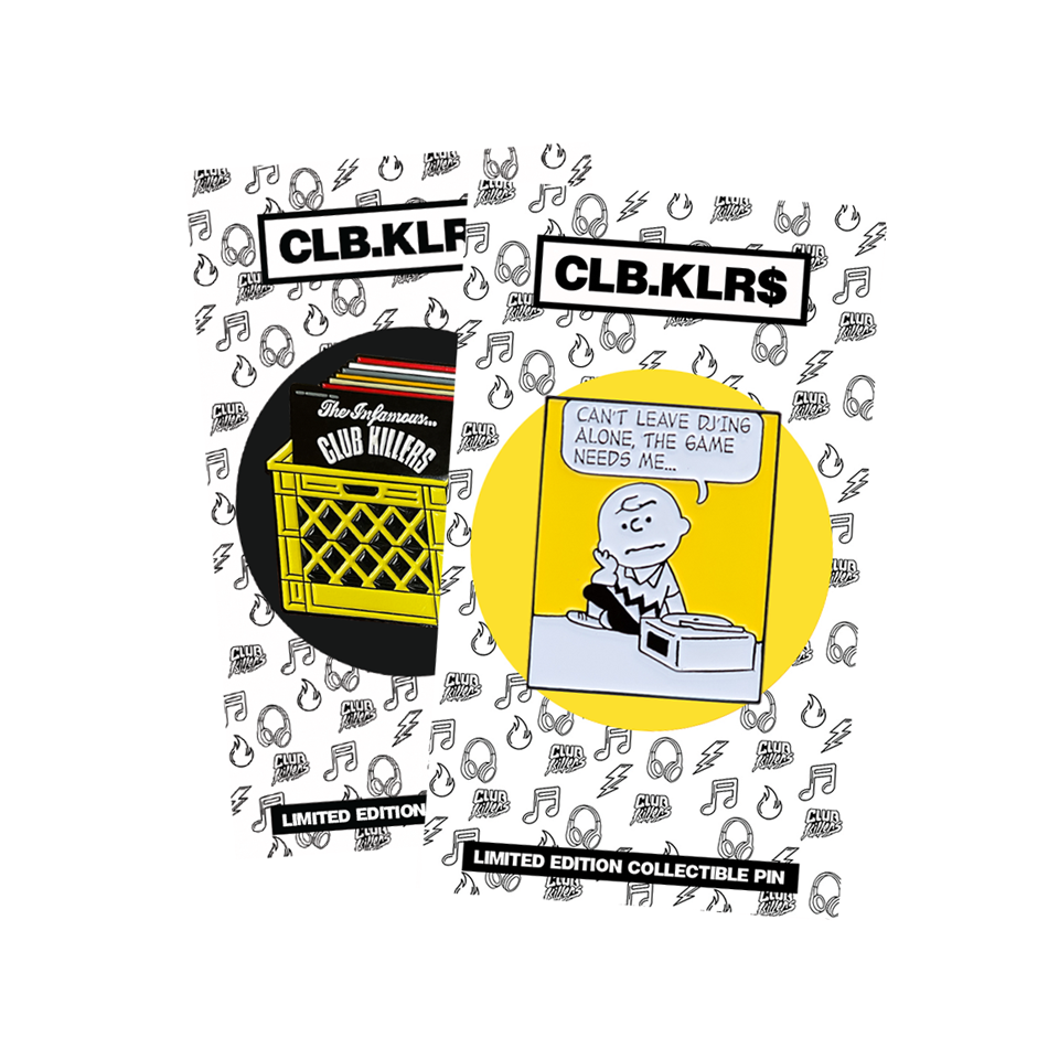 2 Pin Pack (Crate Diggers & The Game Needs Me)