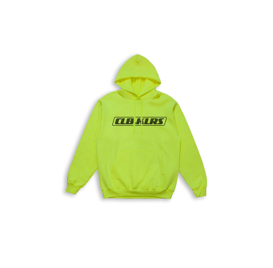 CLB.KLRS NEON HOODIE (SAFETY YELLOW COLOR)