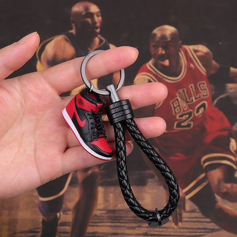 "Handcraft AJ1 ""Homeage To Home"" 3D Sneaker Keychain"
