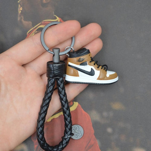 "Handcraft AJ1 ""Rookies Of The Year"" 3D Sneaker Keychain"