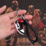 "Handcraft AJ1""Not for Resale"" Varsity Red 3D Sneaker Keychain"