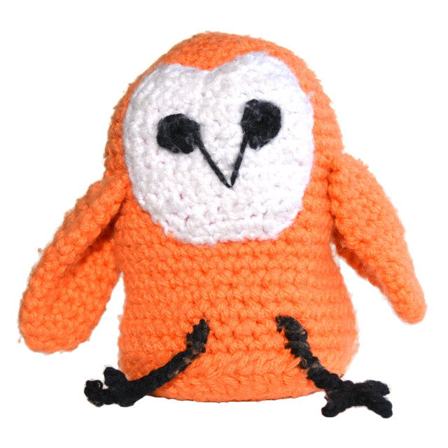 Handmade barnowl Stuffy