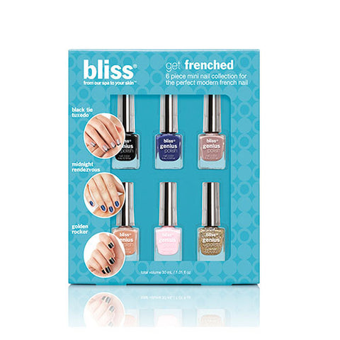 bliss genius nail polish: GET FRENCHED (nail polish kit)