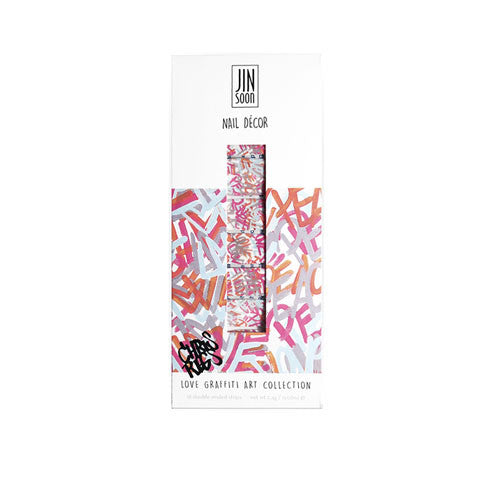 JINsoon: LOVE GRAFFITI nail decor