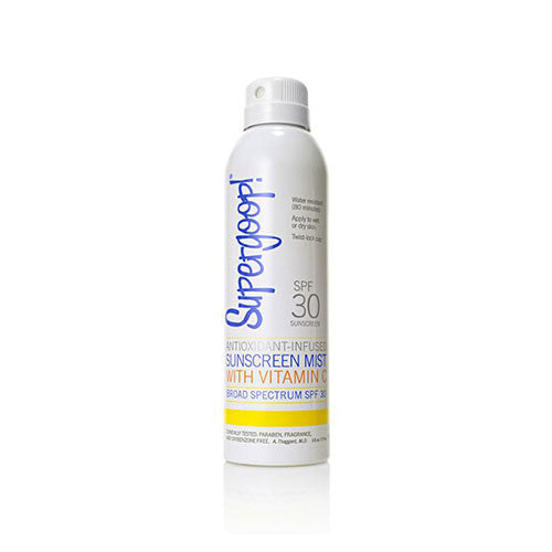 Supergoop! Antioxidant-Infused Sunscreen Mist with Vitamin C SPF 30
