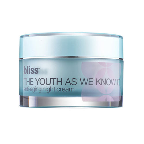 bliss the youth as we know it anti-aging night cream 1.7 oz.