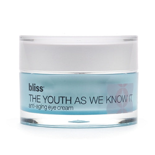 bliss the youth as we know it eye cream .5 oz.