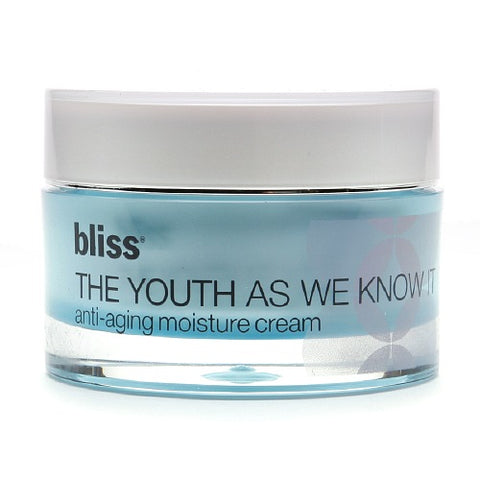 bliss the youth as we know it moisture cream 1.7 oz.