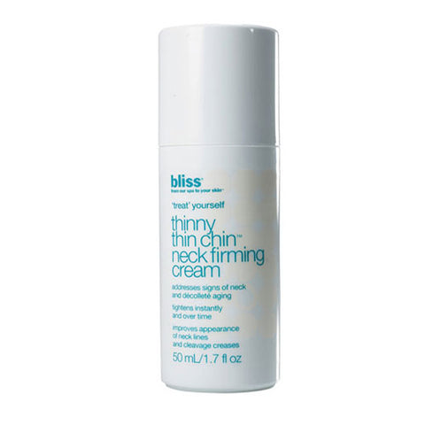 bliss thinny thin chin neck firming cream 1.7 oz.