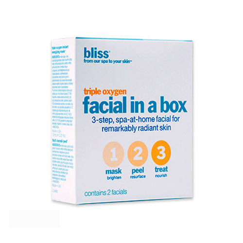 bliss: triple oxygen facial-in-a-box
