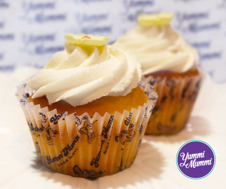 Banana & Maple Cupcake