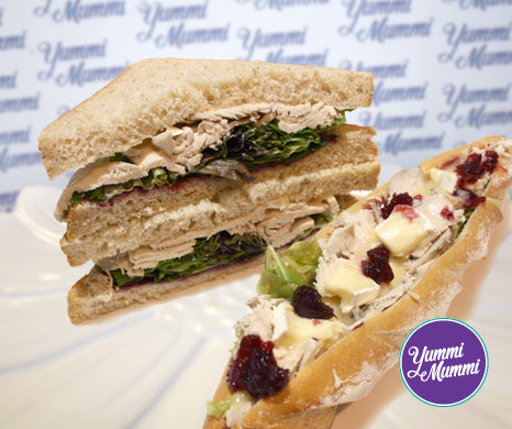 Chicken, Cranberry & Brie