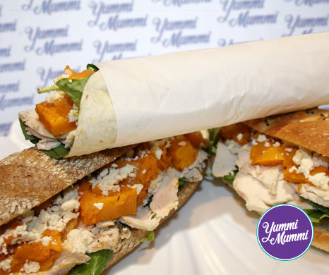 Chicken, Pumpkin & Feta