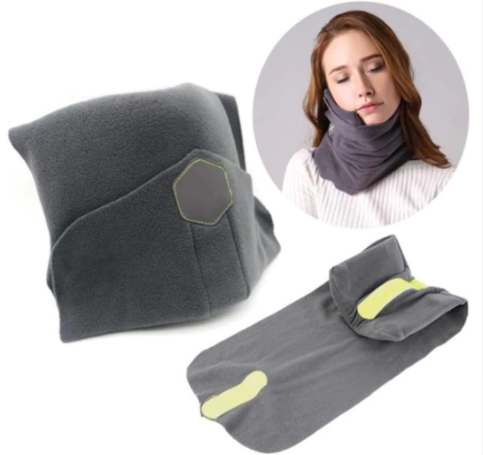 Scientifically Proven Super Soft Neck Support Travel Pillow