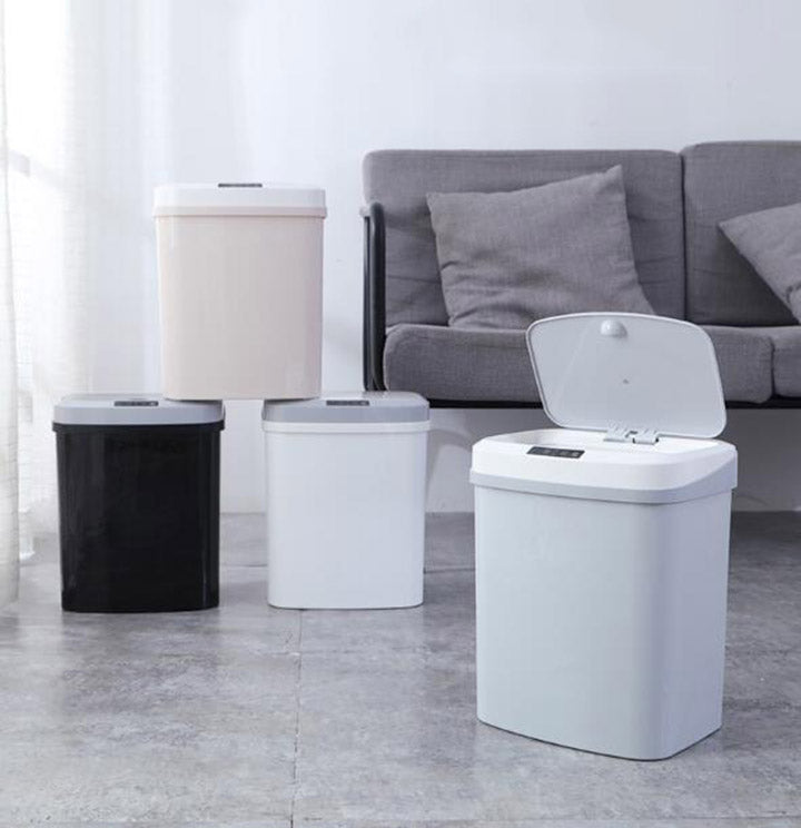 Intelligent Automatic Touchless Infrared Motion Sensor Trash Can
