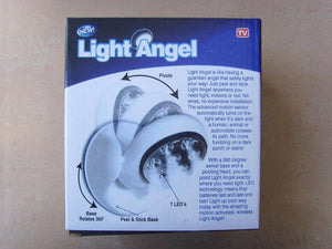 360°Infrared Motion Activated Sensor Auto-sensing Cordless Light Angel Light(White)