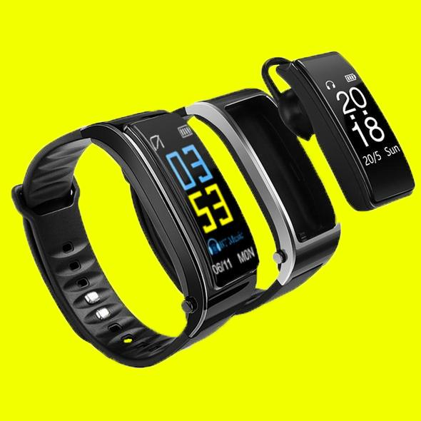B3 Smart Fitness Band Bluetooth Earphone Heart Rate Monitor Watch