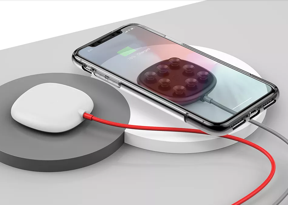 Suction Cup-15W Fast Wireless Charger For Android and Apple Phone