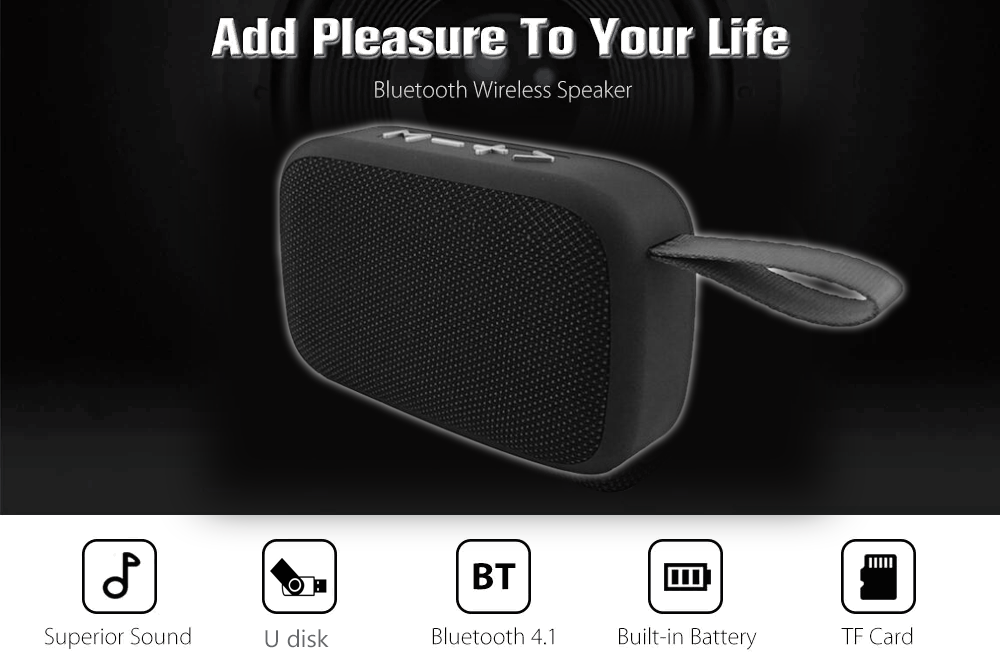 Portable Bluetooth Speaker WaterProof Soundbox