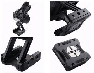 Camera Mount DSLR Quick Release Adapter with Z Straight Bracket