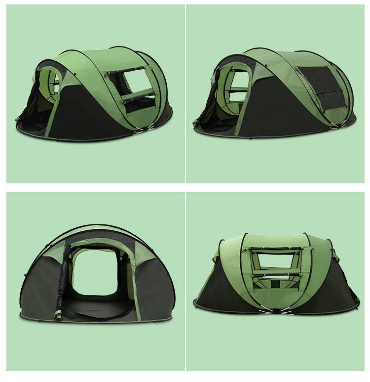 60% OFF-FAMILY SIZED INSTANT POP UP CAMPING TENT