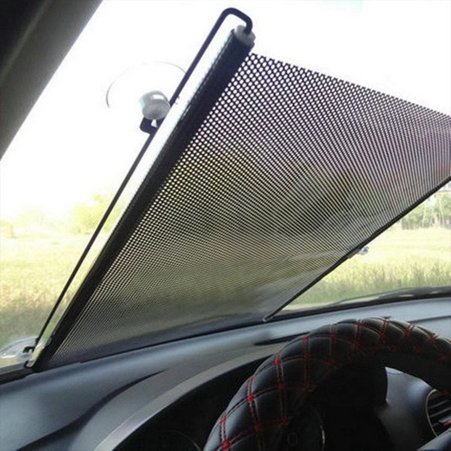 High-Quality Retractable Side Window Car Sunshade Curtain