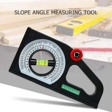 Load image into Gallery viewer, Multi-functional Protractor Angle Finder Slope Scale Level Measuring Instrument