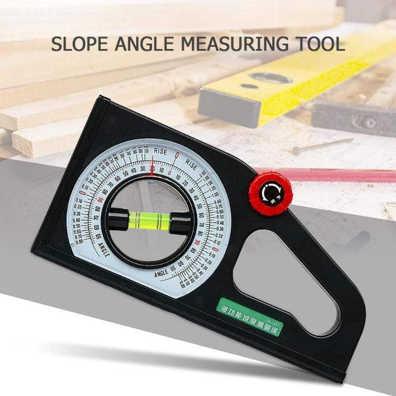 Multi-functional Protractor Angle Finder Slope Scale Level Measuring Instrument