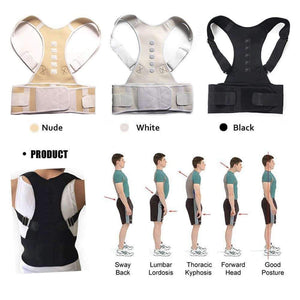 Magnetic Therapy Adjustable Posture Corrector For Body Wellness