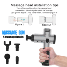 Deep Tissue Muscle Massage Gun For Body Pain Relief