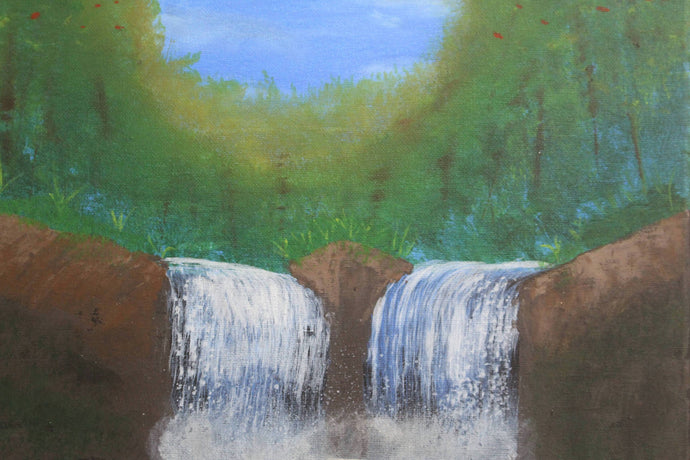 artlyne - Waterfall - Artwire - Acrylic art