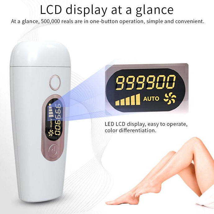 990000 pulsed Laser Hair Removal Depilador machine
