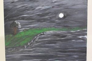 artlyne - Moonlight - Artwire - Acrylic art