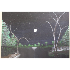 artlyne - Midnight Scene - Artwire - Acrylic art