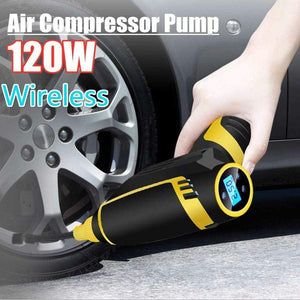 Car Inflatable Pump with USB charging and Wireless