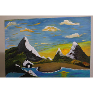 artlyne - Coastal valleys - Artwire - Acrylic art
